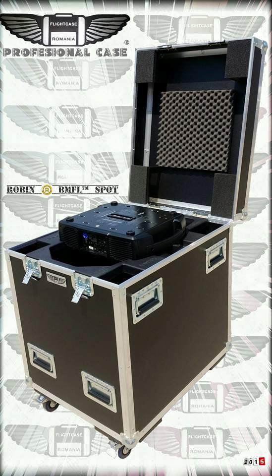 Flight-Case pt ROBIN BMFL Spot cu mulaj cauciuc !