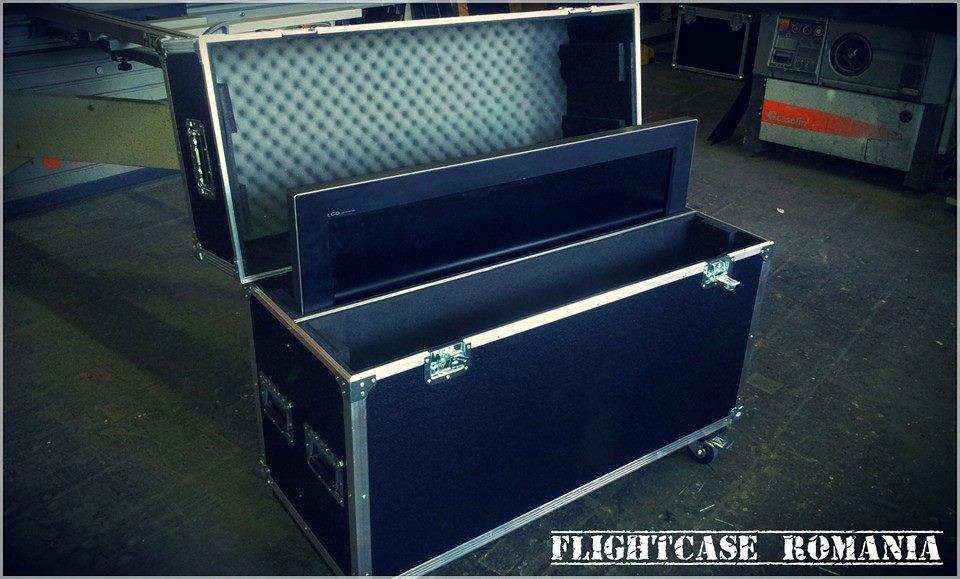 CASE 2 X TV  by Flight-case Romania