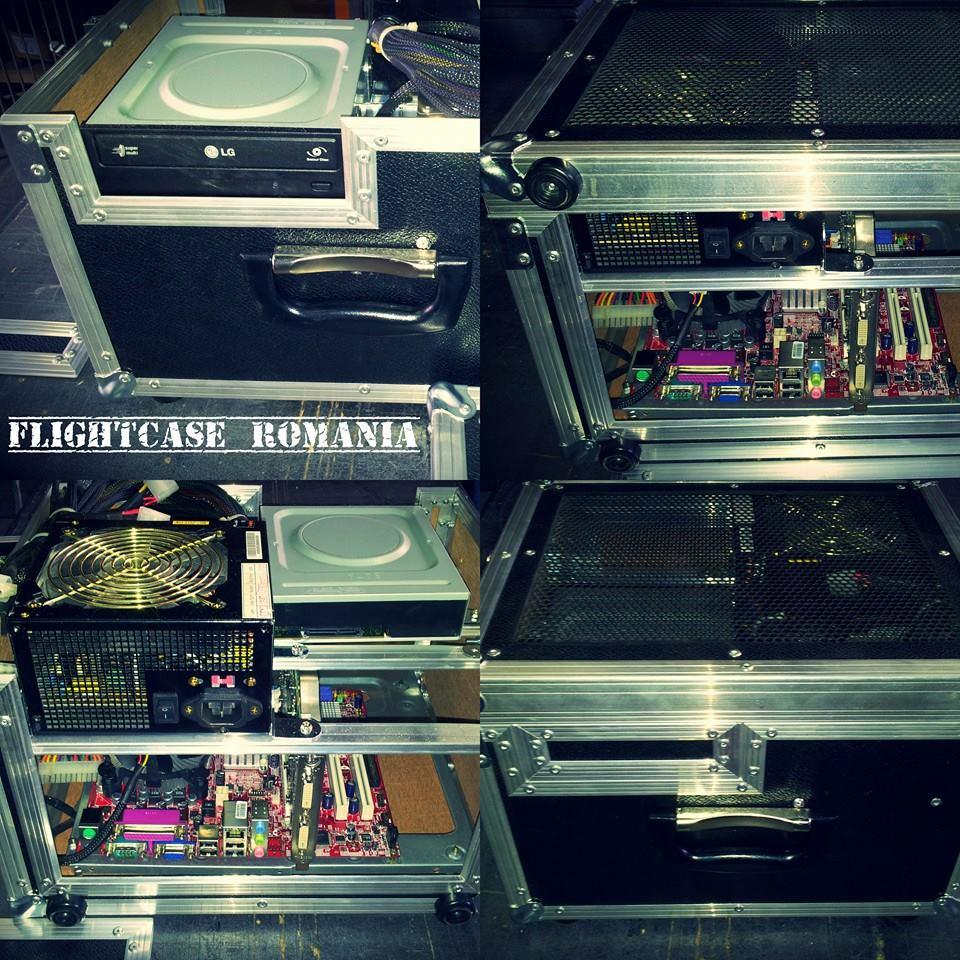 CASE CARCASA PC . UNIC  by Flight-case Romania