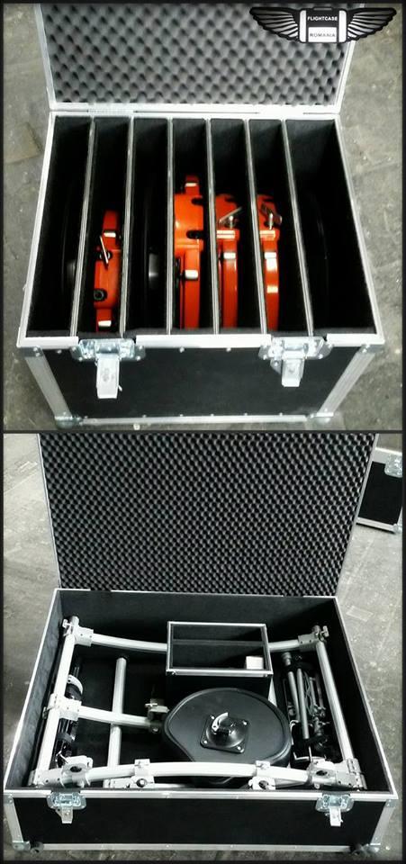 Flight-Case Set TOBE Electronice !