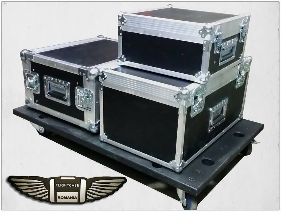 set case+platforma transport by Flight-case Romania