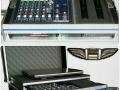 case mixer+ microfoane by Flight-case Romania