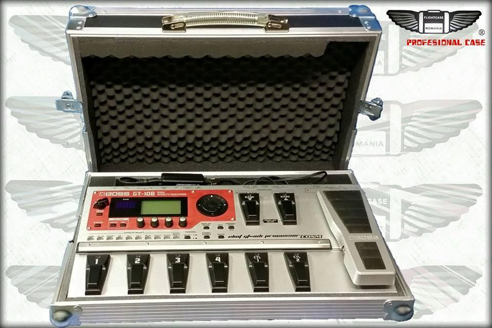 Case pt BOSS GT-10 ! Variantă PROFI !